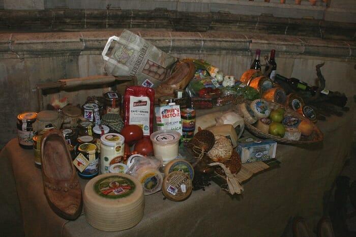 A continuación, Alimentos de Cantabria ofreció a los invitados una degustación de sus productos gastronómicos, junto al fino Tío Pepe y la manzanilla Solear