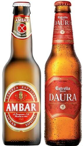 Ambar y Daura son las dos cervezas aptas para celíacos