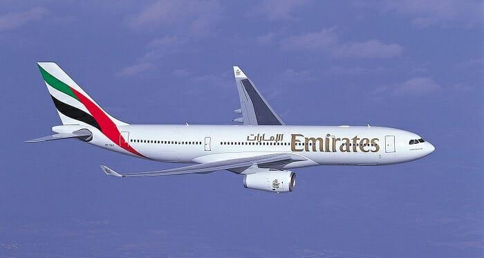 La ruta Madrid-Dubai se cubrirá con un Airbus A330-200, que dispone de 12 asientos en primera clase, 42 en business y 183 en clase turista