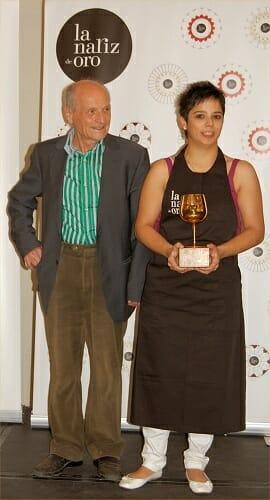 Andrea Alonso, ganadora de la XIX Edición de La Nariz de Oro