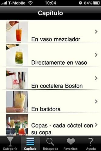 Si tienes un iPhone, ahora no tienes excusa para preparar unos deliciosos cócteles