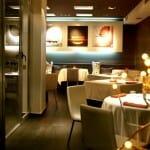 Detalle del comedor del restaurante Rodrigo de la Calle