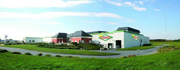 Planta de producción de Sojasun en Chateaubourg