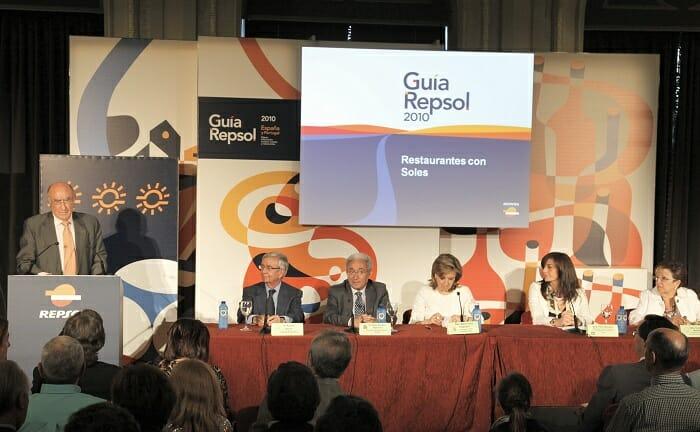 Guía Repsol ha entregado hoy sus Soles 2010 a los restaurantes de Castilla y León