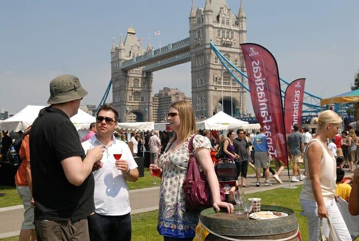 Tapas Fantásticas 2010, celebrado en pleno corazón de Londres, reunió a 23.000 personas en Tower Bridge