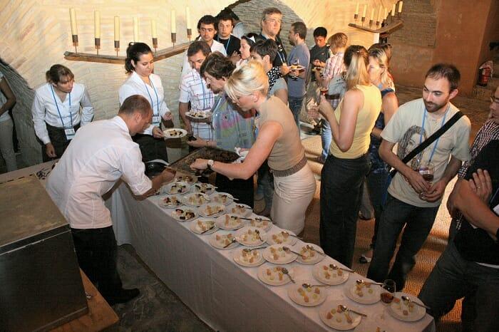 """La segunda armonía corrió a cargo de Jarno Eggen y Cindy Borger, del restaurante holandés """"De Groene Lantaarn"""", y campeones de la pasada edición de la Copa Jerez"""