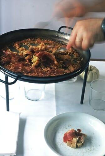 Alberto Herráiz se decidió por una arrocería porque podía aunar los mejores productos, hablar de gastronomía y tener un mensaje gastronómico sin un precio excesivo