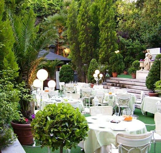 El jard n del miguel ngel un oasis entre el asfalto comer for Jardin hotel miguel angel
