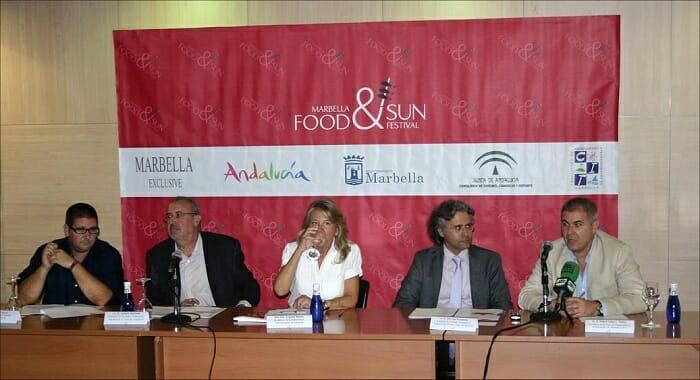 Presentación de la segunda edición de Marbella Food&Sun Festival