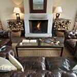 La casa rural de la Finca de Duque es muy acogedora y dispone de chimenea para el invierno
