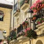 Balcones en Laguardia