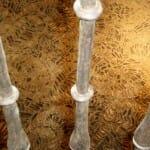 Suelo del zaguán de casa tradicional