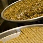 Dulces típicos de Siria y Líbano a base de miel y frutos secos