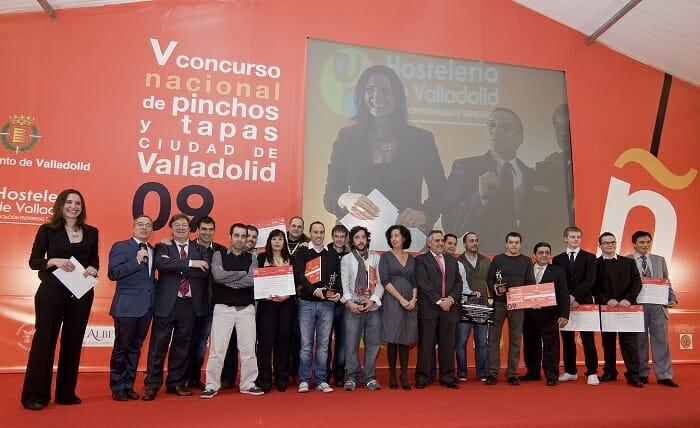 Foto de familia de los premiados en la edición del pasado año