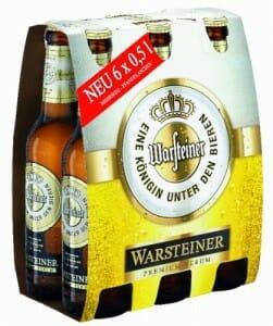 El Grupo Mahou-San Miguel comercializará las cervezas Warsteiner en España, Portugal y Andorra