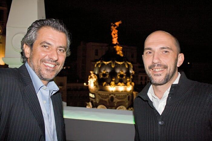Valentín González y Luis Linares son el alma de Degusta Madrid