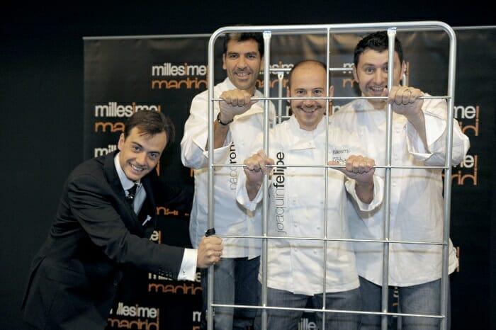 """""""Contener a los chefs"""" era tarea difícil en un evento como éste"""