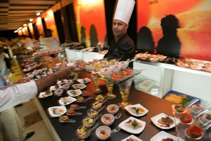 El Open Bar acerca a los invitados a las creaciones de los grandes chefs