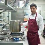 Emilio José Contreras, chef del restaurante del Hotel Viura
