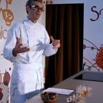 Antonio González, del restaurante el Rincón de Antonio, en Zamora, habló sobre las setas y los licuados