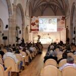 Vista general del Aula Magna Tirso de Molina durante la ponencia del chef danés Bo Bech