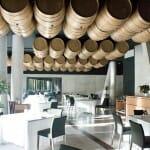 Vista de la sala del restaurante