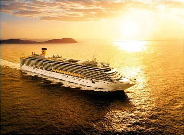 Cruceros por el Mediterráneo, el Caribe o el Mar Rojo. Costa Cruceros