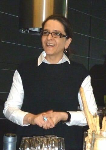 Angela Barusi presentó los quesos DOP Gorgonzola en la madrileña Accademia del Gusto