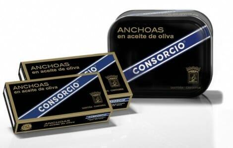 La empresa Consorcio presenta las anchoas 60 aniversario