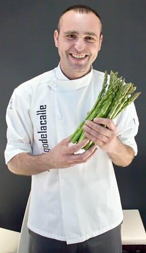Rodrigo de la Calle será uno de los miembros del jurado del Concurso Cocinero Verde