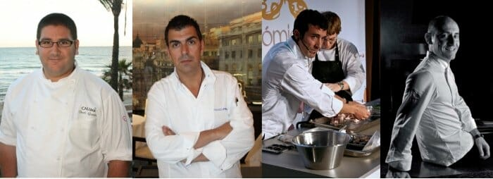 Dani García, Ramon Freixá, Eneko Atxa y Paco Pérez han conseguido su segunda estrella
