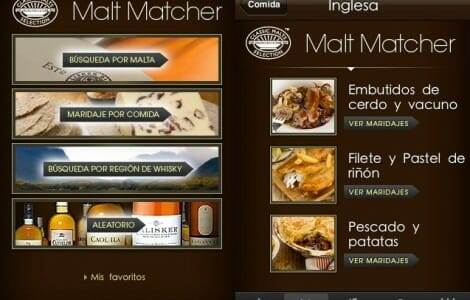 Malt Matcher para iPhone
