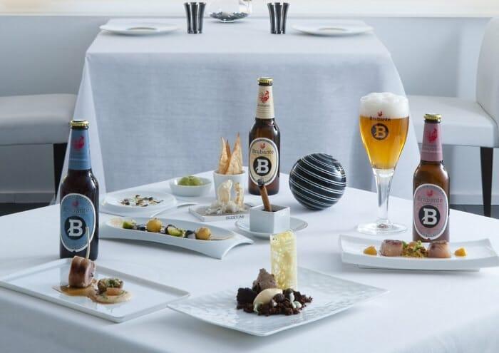 15 menús, como éste de La Broche, maridan cervezas de Brabante con los mejores platos