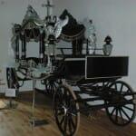 Carruaje funerario. Museo de Carruajes