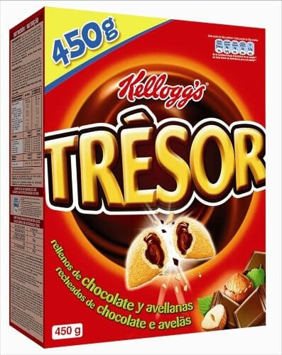 Kellogg's presenta Trésor, sus nuevos cereales para adolescentes