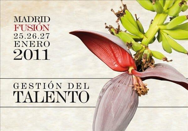 Cartel de Madrid fusión 2011, 'Gestión del Talento'