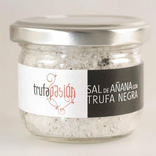 Sale al mercado la nueva Sal de Añana con Trufa negra de Aragón