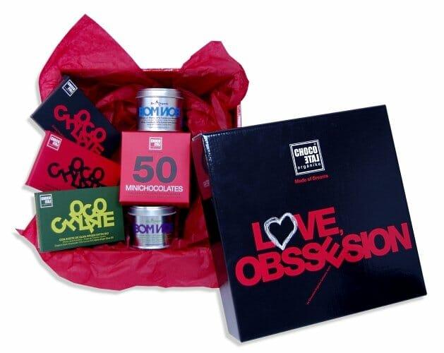 Enamora con las cajas personalizadas de Chocolate Orgániko