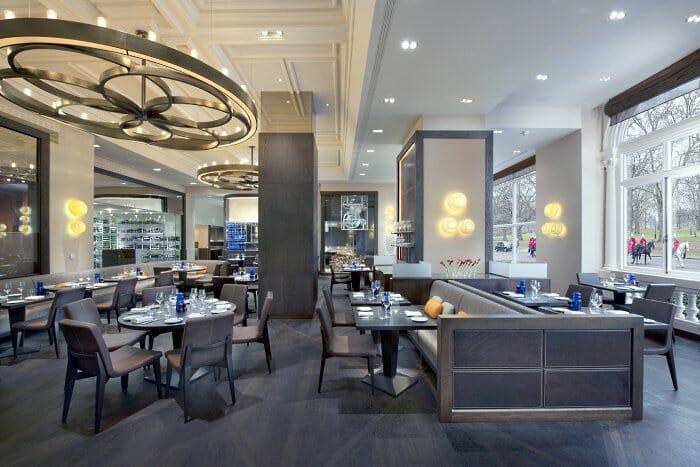 Detalle de la sala de Dinner by Heston Blumenthal