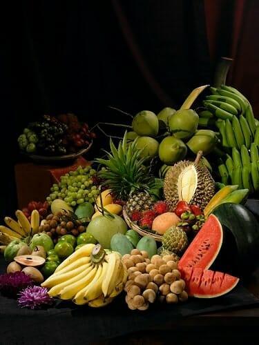 Frutas exóticas de Indonesia