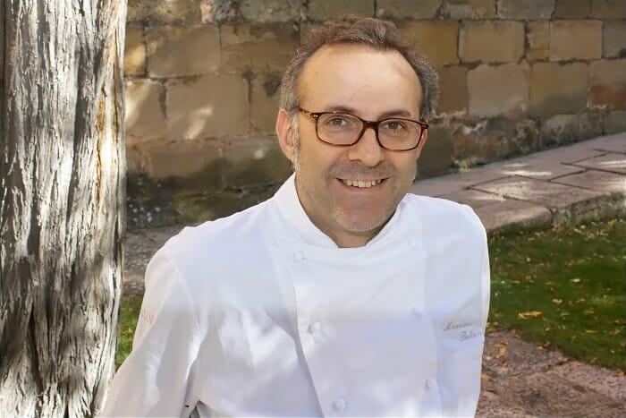 Massimo Bottura, en una fotografía tomada en Soria Gastronómica