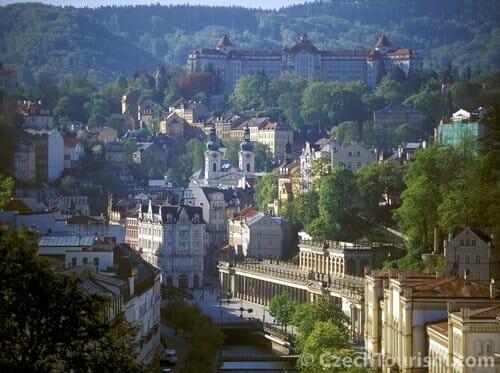 La industria de mayor prestigio en Karlovy Vary es la del Cristal de Bohemia
