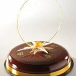 Creación española con chocolate