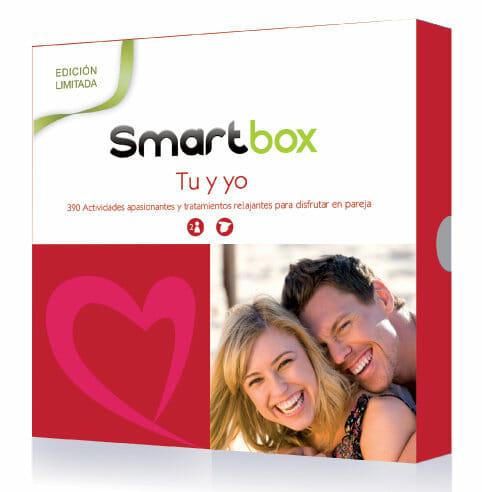 Smartbox Tú y Yo: bienestar y aventura para el día de los enamorados