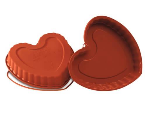 Moldes de corazón de Klimer