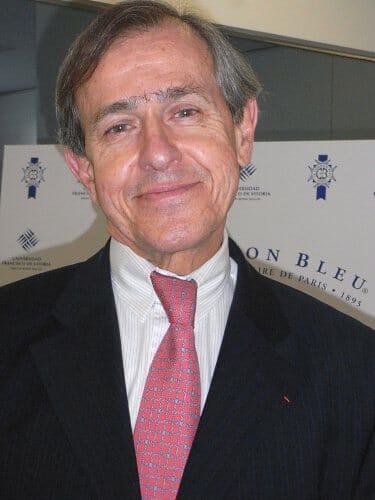 André Cointreau, Presidente de Le Cordon Bleu Internacional, durante la presentación de la nueva escuela en Madrid