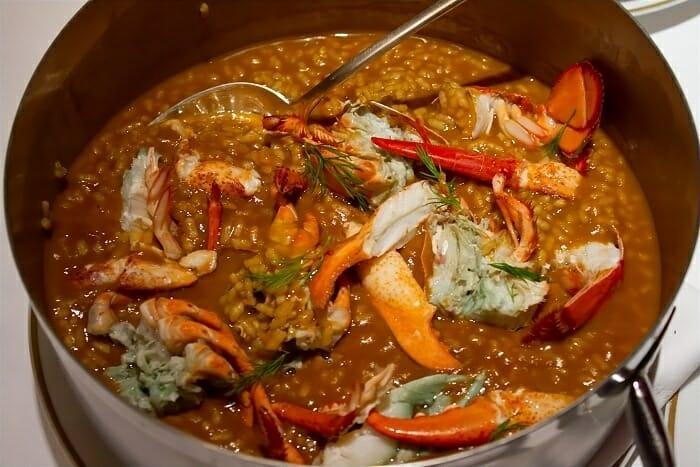 El antiguo atrio cocina extreme a deliciosa comer - Salsa para bogavante cocido ...