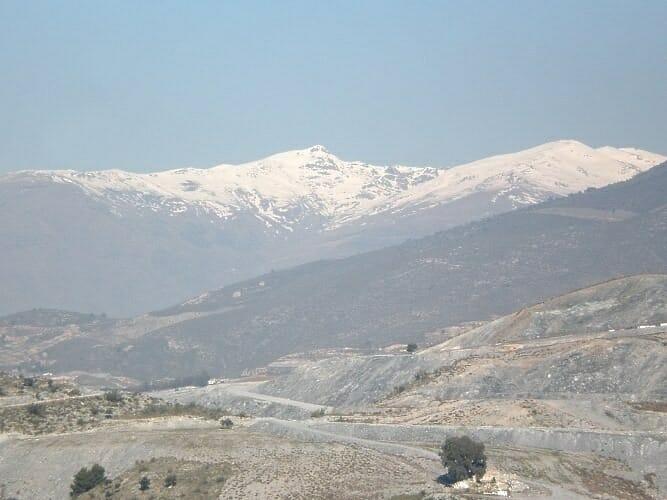 Sierra Nevada desde el Cerro Toro