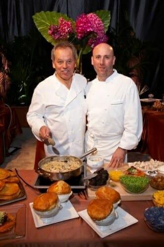 Wolfgang Puck y Matt Bencivenga serán los responsables del menú de la noche de los oscars