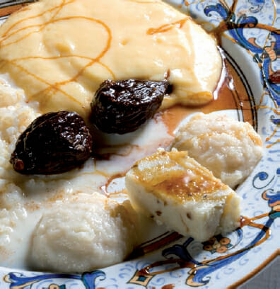 Uno de los platos inspirado en una receta medieval